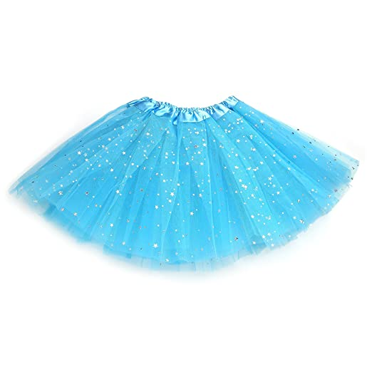 "030199706f Anleolife 12"" Baby Girls Fluffy Birthday Tutu Skirt Girls Princess  Pettiskirt Ballet Dance Tutu Dress"