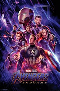 "Trends International Avengers: Endgame - One Sheet Wall Poster, 22.375"" x 34"", Multi"