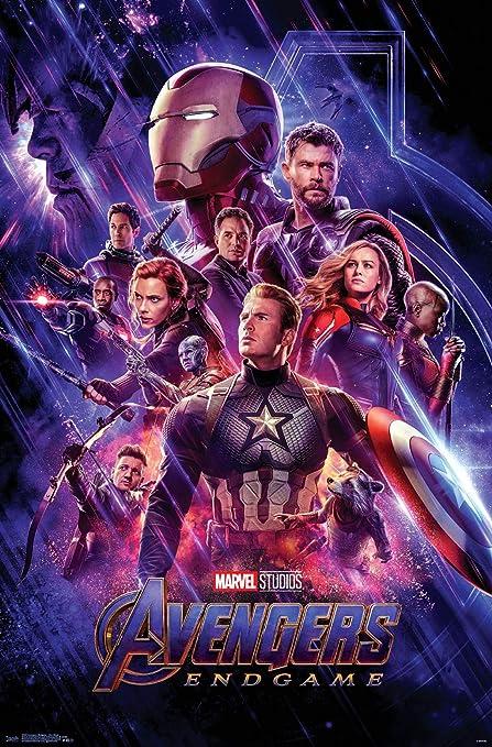 Amazon Com Trends International Avengers Endgame One Sheet Wall