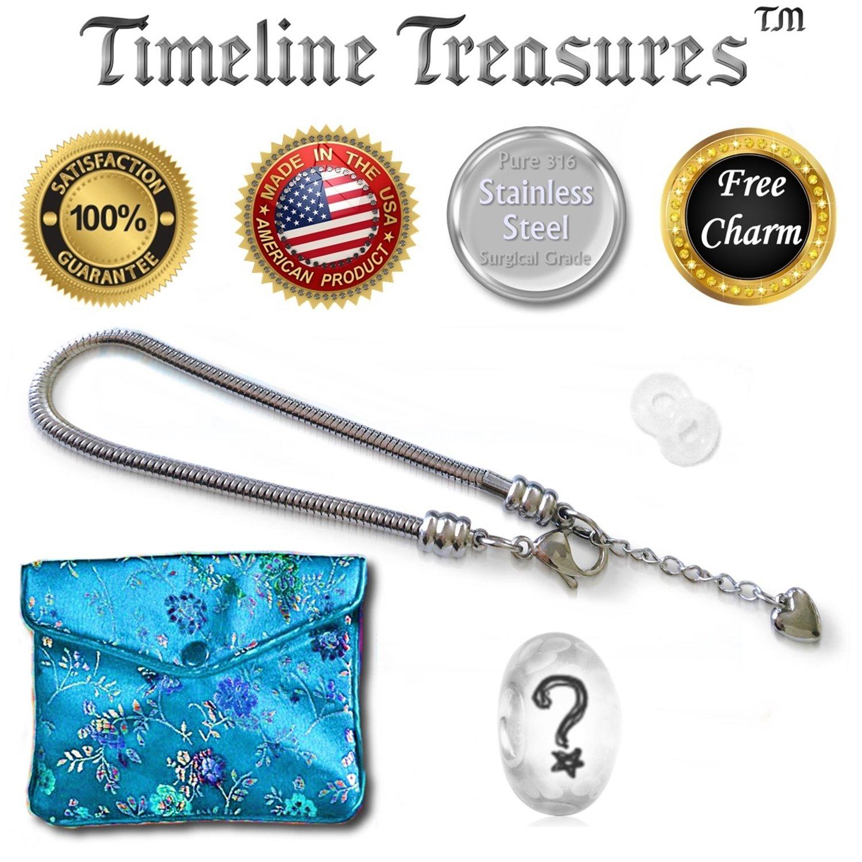 fb464446c5b8 Europea pulsera para las mujeres y las niñas colgantes de perlas ...