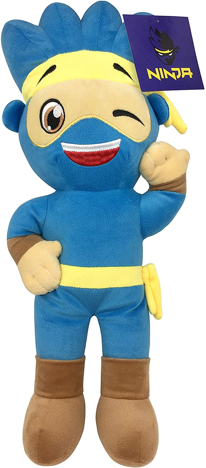 Jay Franco Ninja Plush Stuffed Pillow Buddy - Super Soft Polyester Microfiber, 19 inch (Official Ninja Product)