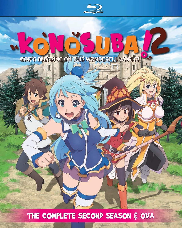 KonoSuba: God's Blessing on This Wonderful World! Season 2 + OVA Blu-ray (Dual Audio)
