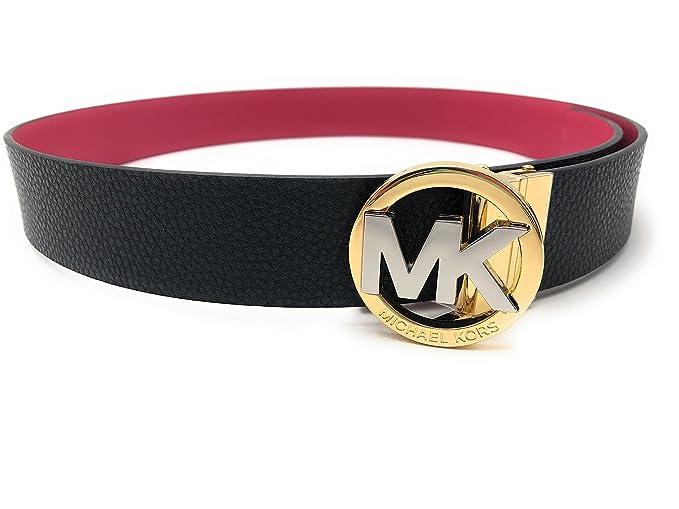 davvero economico prezzo folle marchi riconosciuti Michael Kors - Cintura - Donna marrone-rosso S: Amazon.it ...