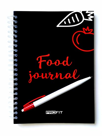 amazon com daily food journal meal planner for weight loss and