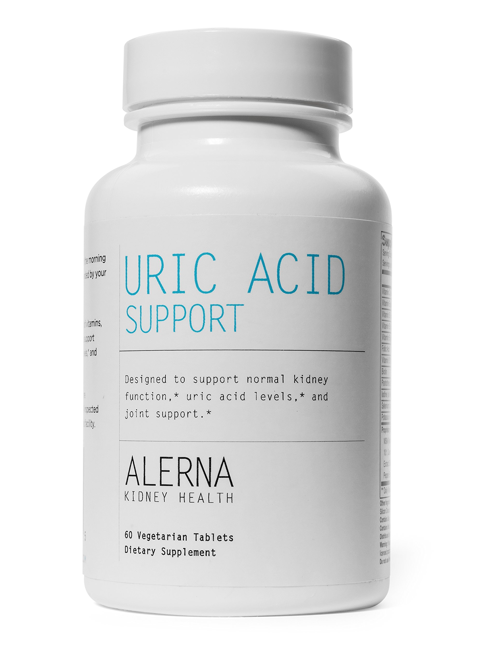 Uric Acid Support - Supports Normal Kidney Function & Uric Acid Levels (W/ Tart Cherry, Celery Extract, Turmeric, Quercetin, and more)