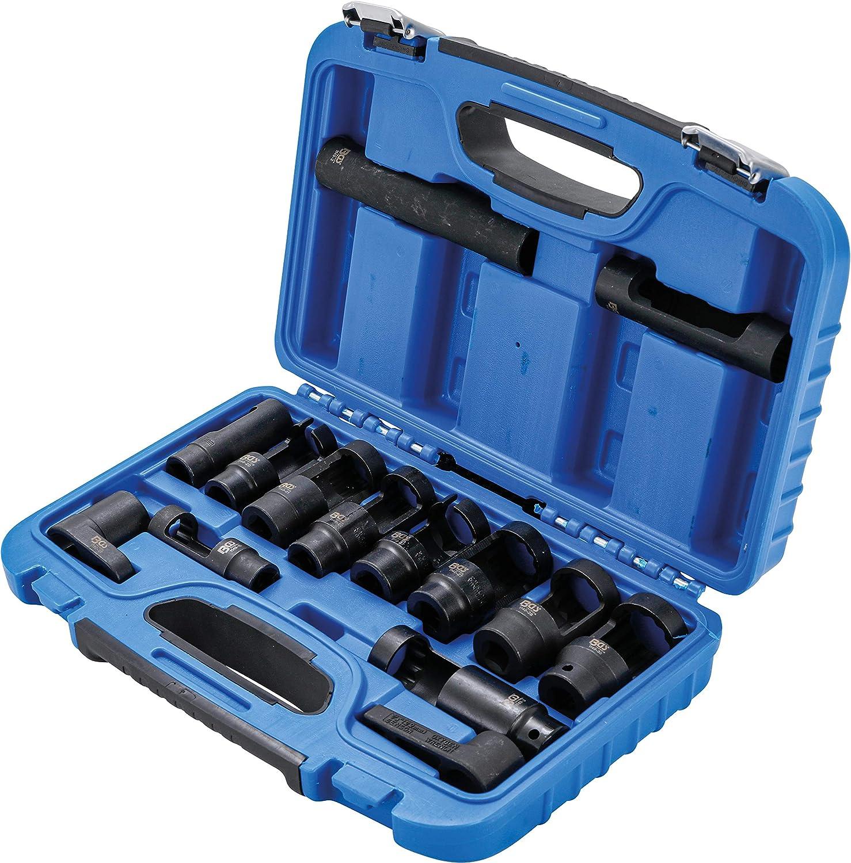 Juego de llaves de vaso especiales para sondas lambda 14 piezas BGS 1149