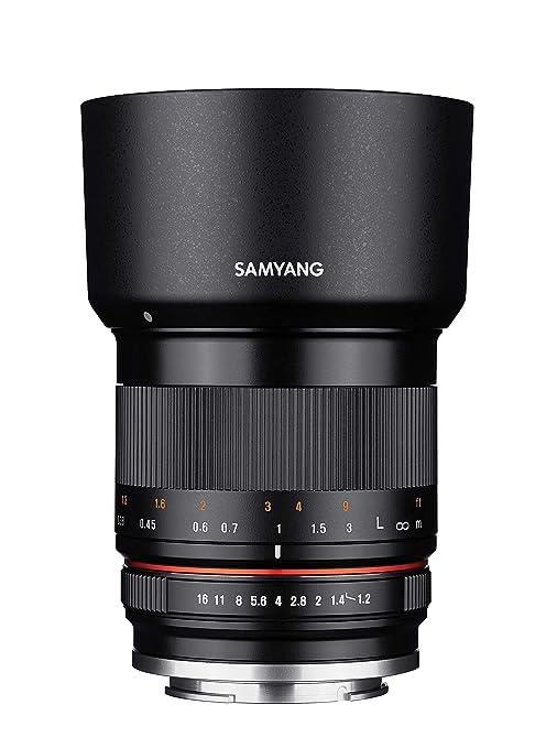 Samyang 35/1,2 Objektiv APS-C Fuji X manueller Fokus Fotoobjektiv, Weitwinkelobjektiv schwarz