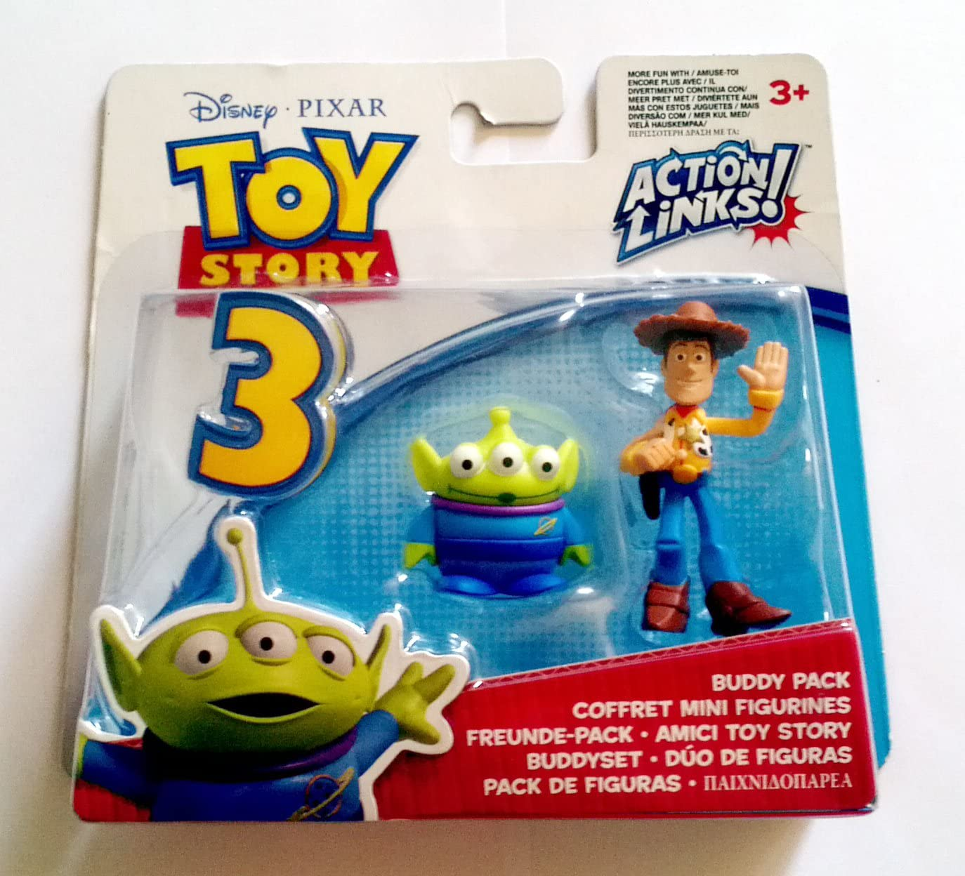 Disney / Pixar Toy Story 3 Action Links Mini Figure Buddy 2Pack ...