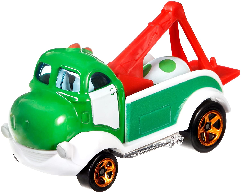 Hot Wheels Yoshi Car Mattel FLJ18