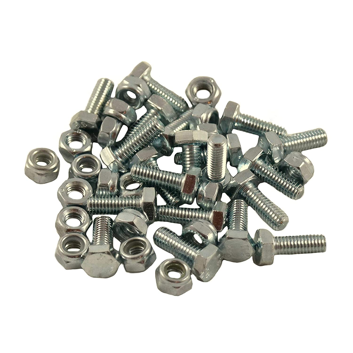 SpeedFreakCNC 20pcs Auger Shear Pins Bolts & Nuts Honda HS1132 HS624 HS828 HS928 HS724 & New HSS Series 724, 928, 1332