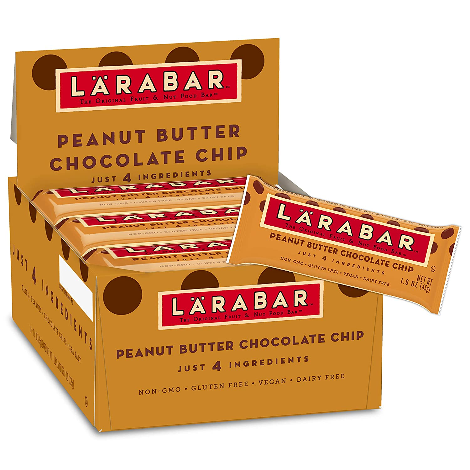 7. Larabar Peanut Butter Chocolate Chip