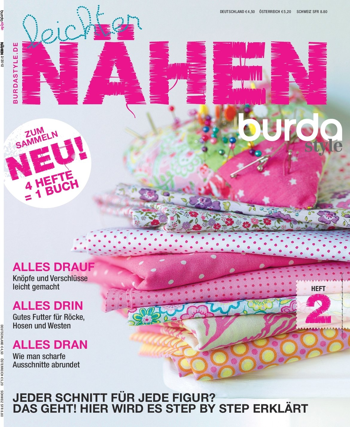 burda style Leichter Nähen - Heft 2 / 4