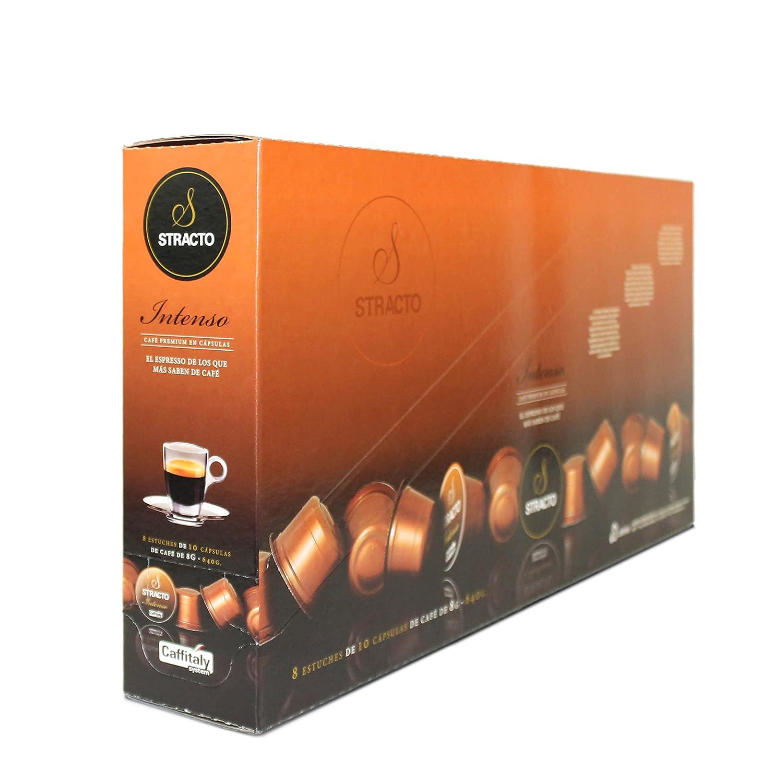 Stracto Intenso - Cápsulas de Café - Estuche 80 Unidades