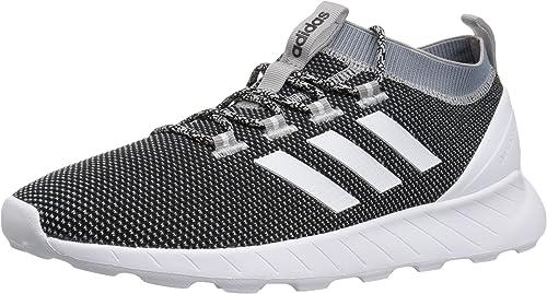 adidas Men's Questar Rise Running Shoe, BlackWhiteraw Grey