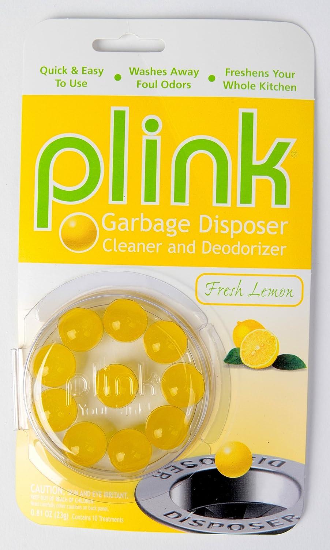 サミットPlink Garbage Fresh Lemon Disposal Cleaner and Deodorizer、10枚パック B00G3UQX0W