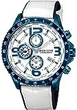 [エンジェルクローバー]Angel Clover 腕時計 MOND ホワイト文字盤 クロノグラフ ワールドタイマー MO44BNV-WH メンズ