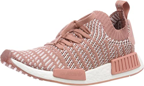 womens pink adidas nmd_r1 stlt primeknit trainers | schuh