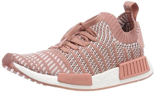 adidas NMD_r1 Stlt Primeknit, Baskets Femme: