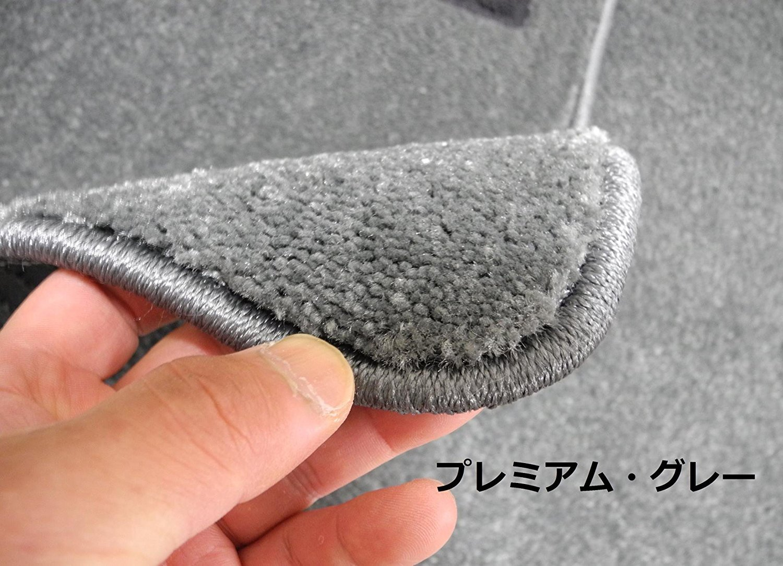 アウディ RS6 (C7) 2013年以降発売モデル右ハンドル用 フロアマット(プレミアム/グレー) B0196CJXOQ プレミアム/グレー プレミアム/グレー