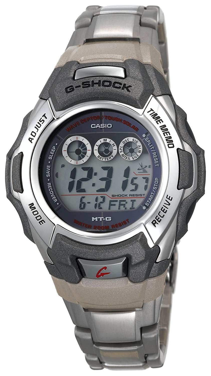 Amazon.com: Casio Mens MTG930DA-8V G-Shock MT-G Solar Atomic Watch: Casio: Watches