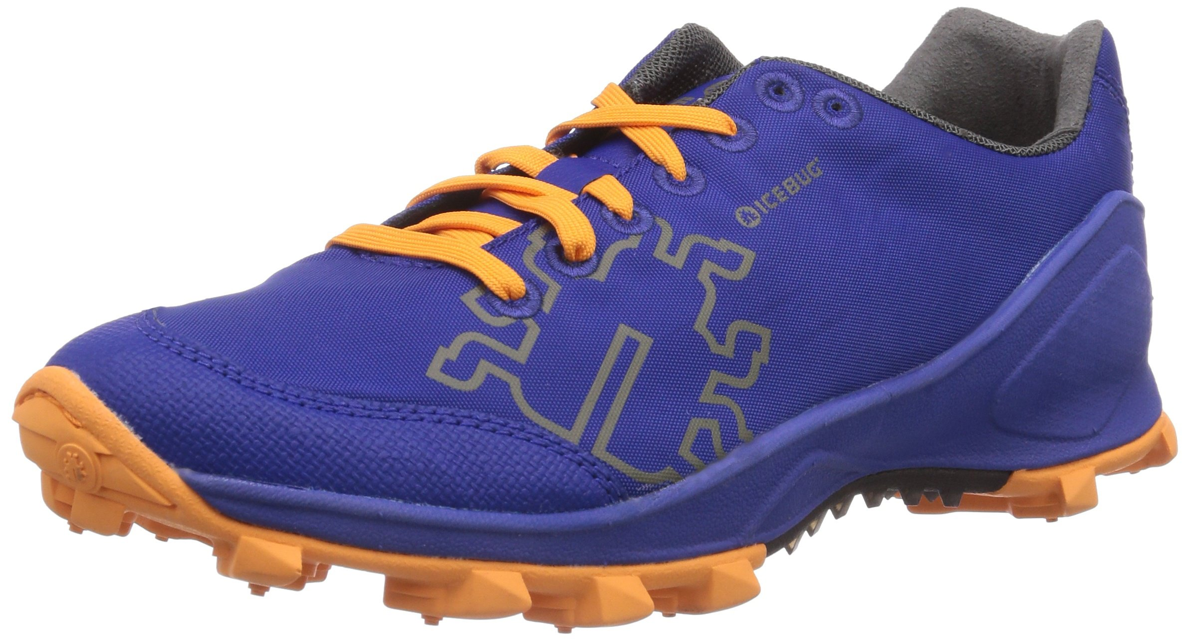 Icebug Women's Zeal RB9X Running Shoe, Lilac/Marigold, 7 M US