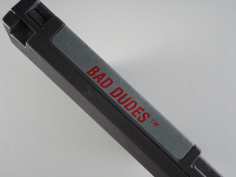 BAD DUDES VIDEO GAME (NES NINTENDO 8-BIT VIDEO GAME ...