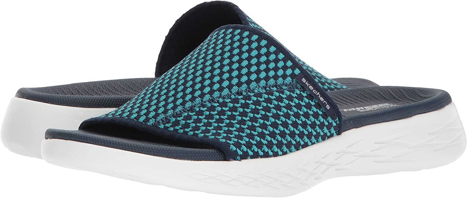 Skechers on The go 600 Nitto, Sandales Bout Ouvert Femme
