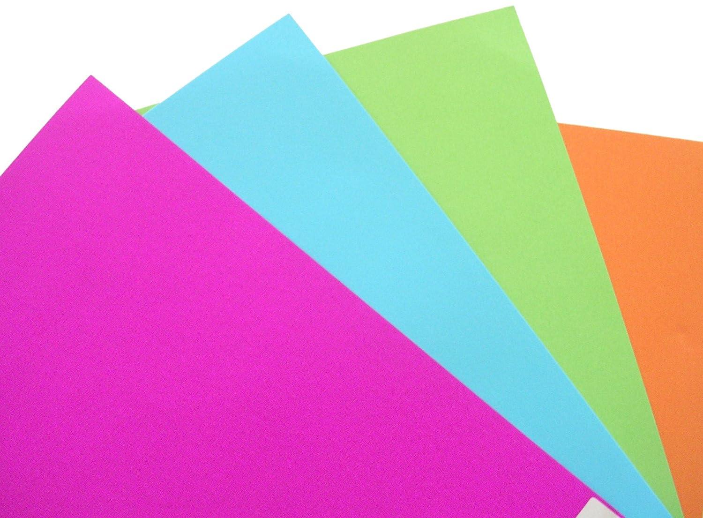 Pavo Einbanddeckel-Chromolux A4 25-pack 250 g//m/² mezcla de color de moda