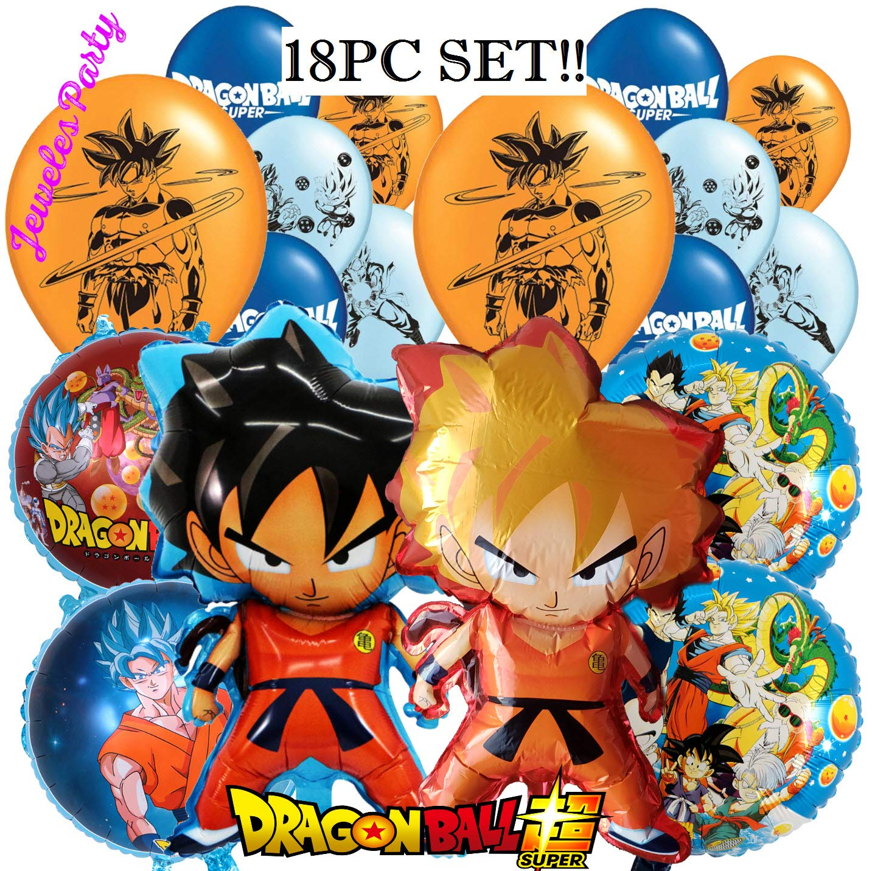 Amazon Com 18pc New Dragon Ball Z Super Goku Dragonball Latex