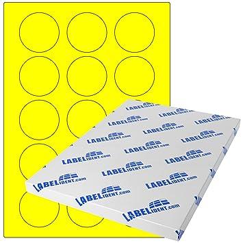 1500 Klebepunkte 50 mm Markierungspunkte DIN A4 Bogen Papier leuchtpink