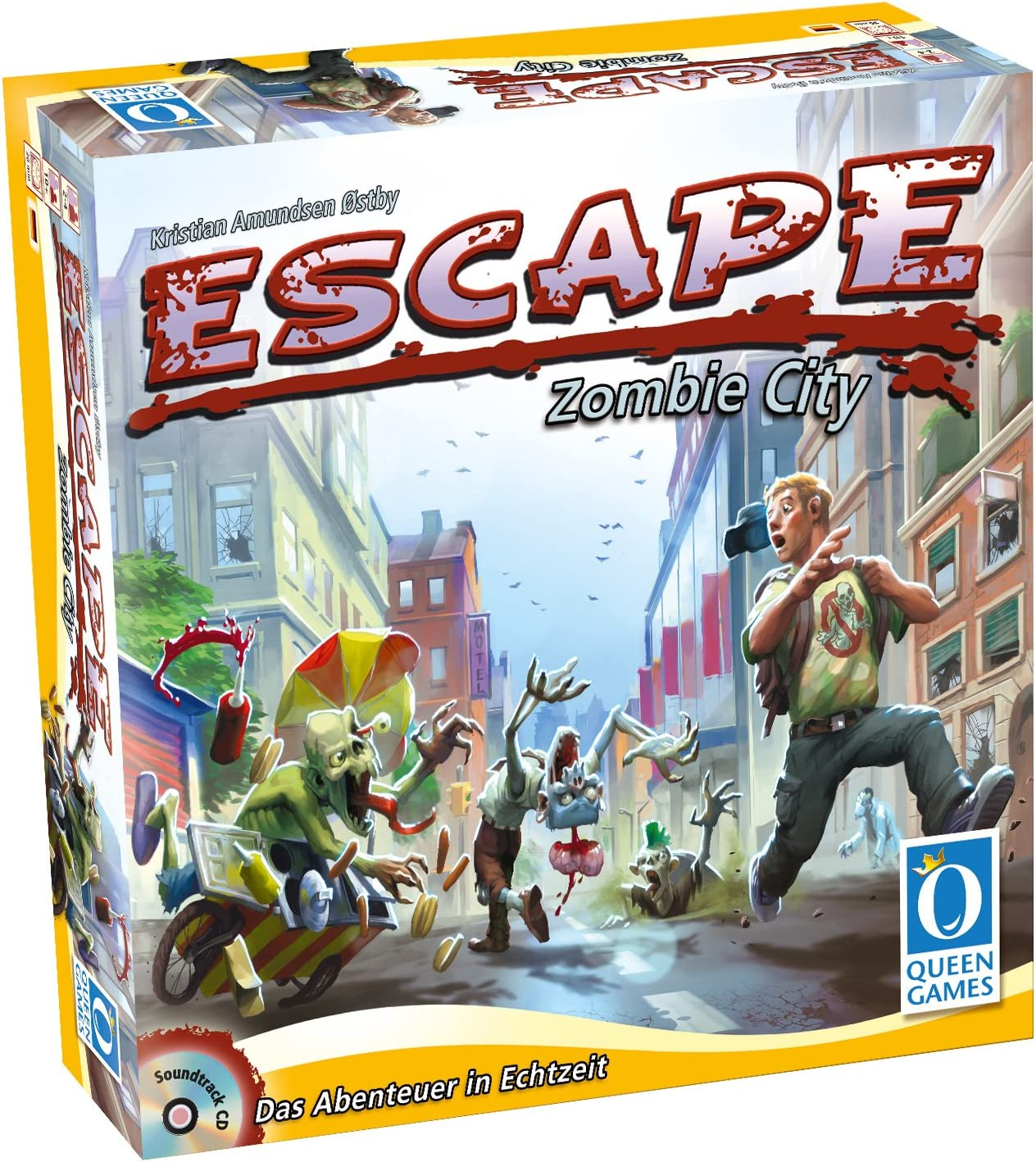 Queen Games 10030 - Escape - Zombie City: Amazon.es: Juguetes y juegos