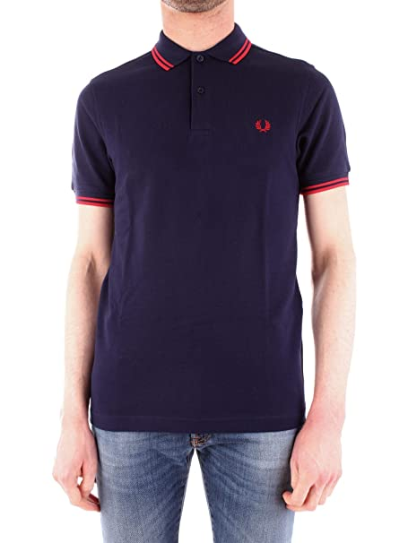 Fred Perry - Polo Hombre Manga Corta 4410H31: Amazon.es: Ropa y ...