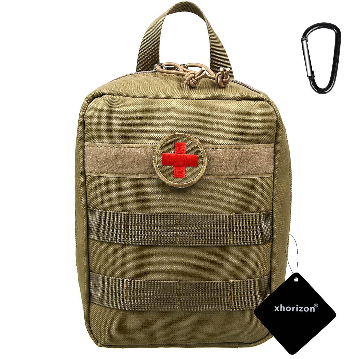 xhorizon TM SR Molle Medical EMT First Aid Pouch Bag Waterproof Nylon Tactical First Aid Bag Military Utility Pouches