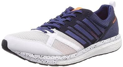 pretty nice 6b9c2 07e6a adidas Adizero Tempo 9 M, Chaussures de Trail Homme, Blanc (FtwblaIndnob