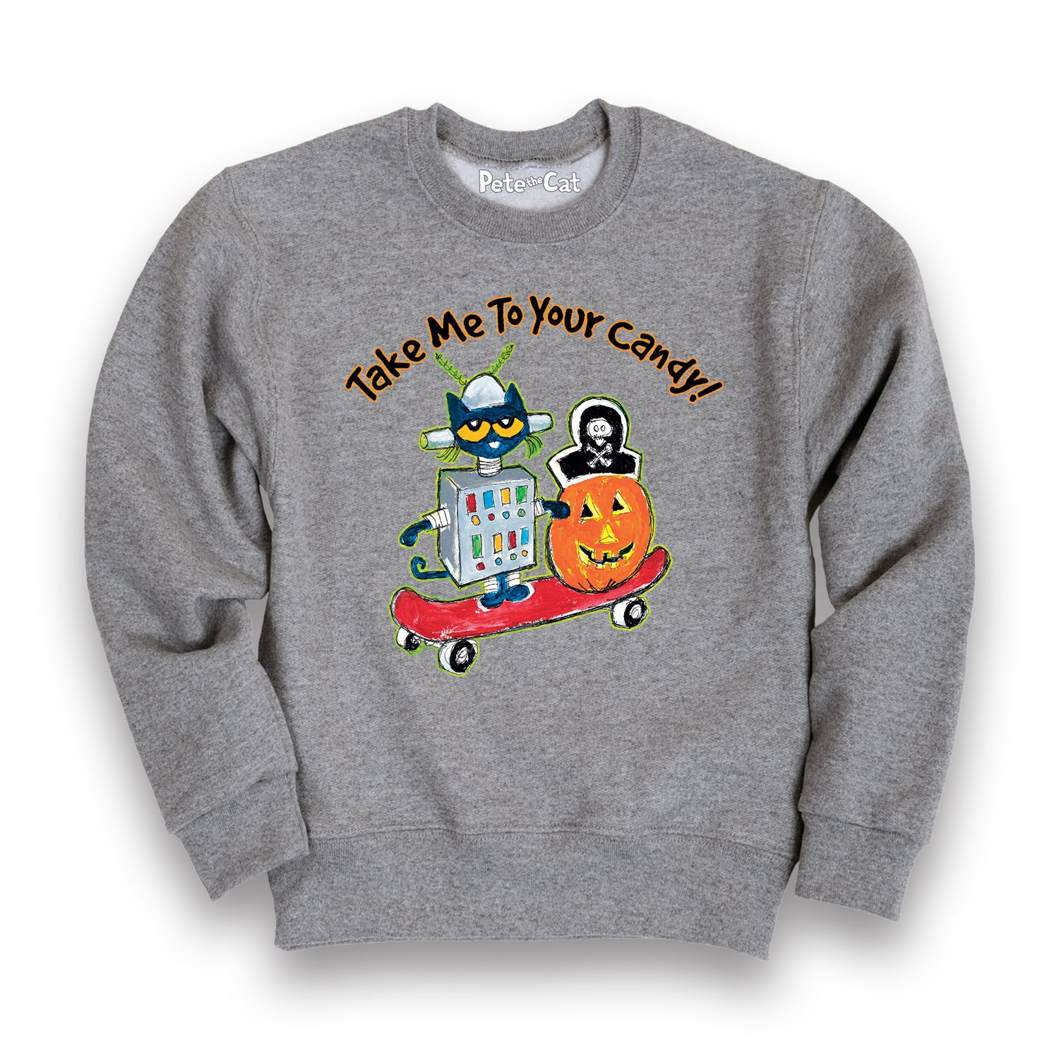 Pete the Cat Take Me to Your Toddler Toddler Crew Fleece