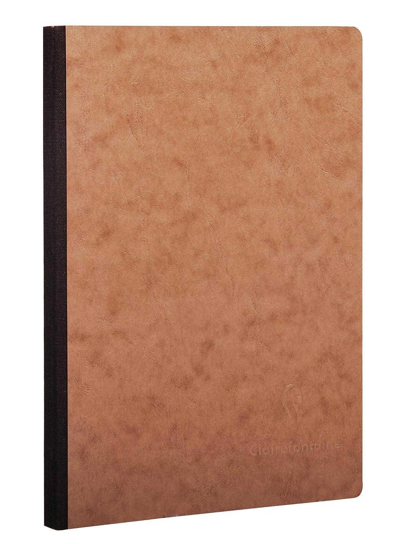 Clairefontaine 792402C AgeBag Notizbuch 1 St/ück rot 19 x 25 cm, 96 Blatt, blanko, bedruckten Vorsatubl/ättern