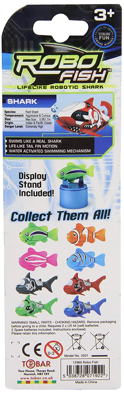 1 x Robo Fish (Colores surtidos)No se puede elegir: Amazon.es: Juguetes y juegos