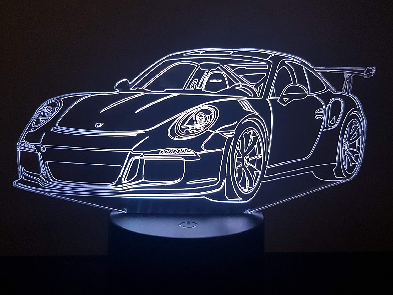 3D-LAMPE PORSCHE 911 GT3 RS