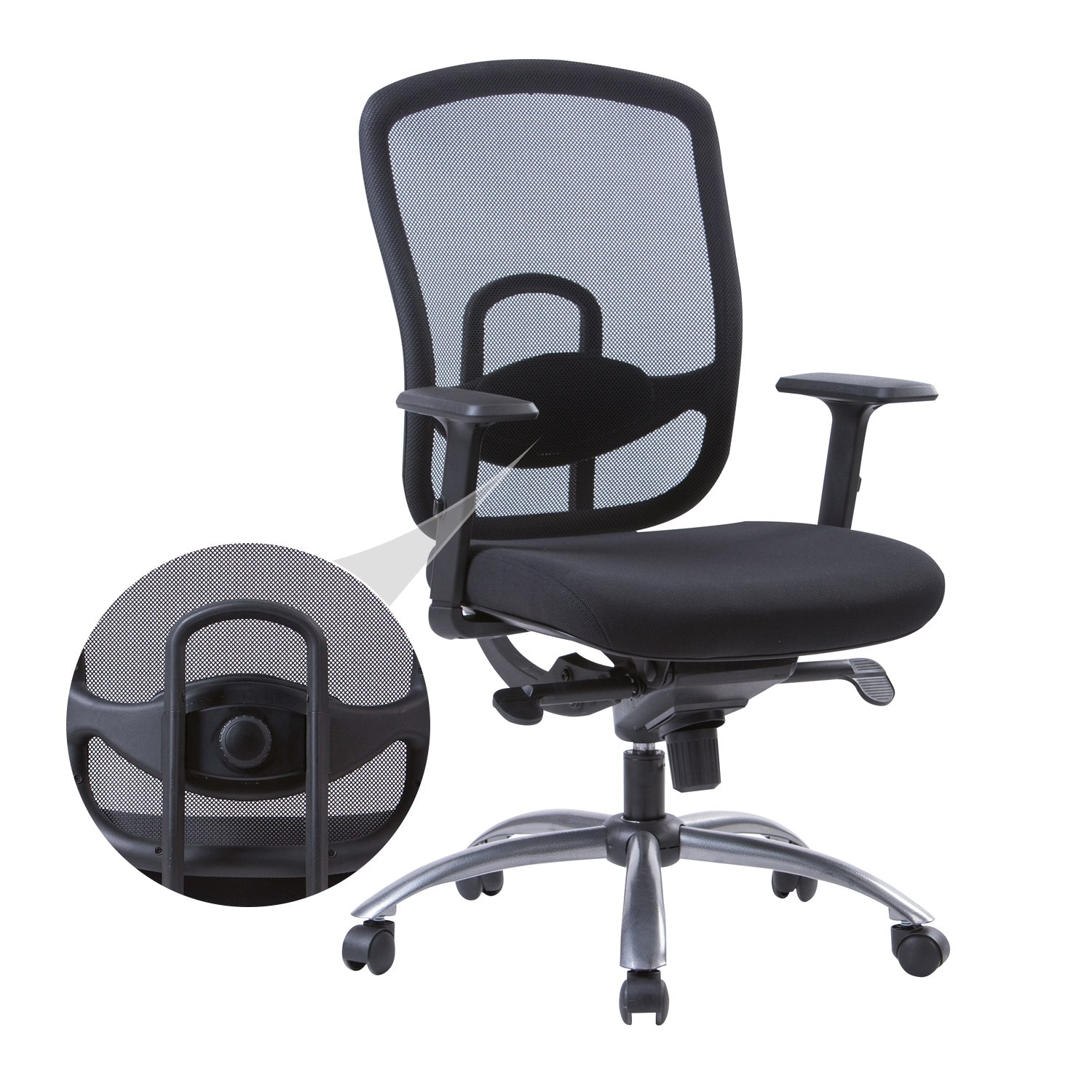 Amazon LONGEM Mesh fice Chair Multifunctional Ergonomic