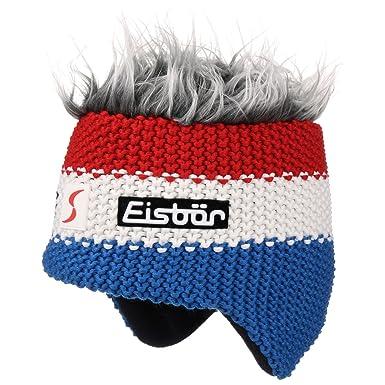 France Star Cocker Ski Hat Eisbär merino hat ski hat (One Size - blue) ec5a27e56a5