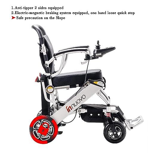 Amazon.com: Innuovo N5513A - Silla de ruedas eléctrica ...