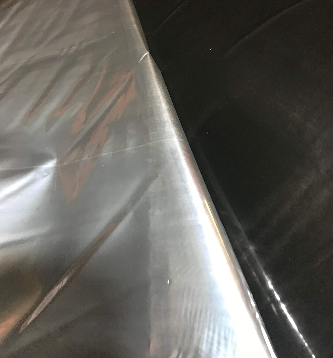 Silver Metallic Plastic Mulch 4 Ft X 50 Ft 1.0 Mil Embossed By Growerssolution