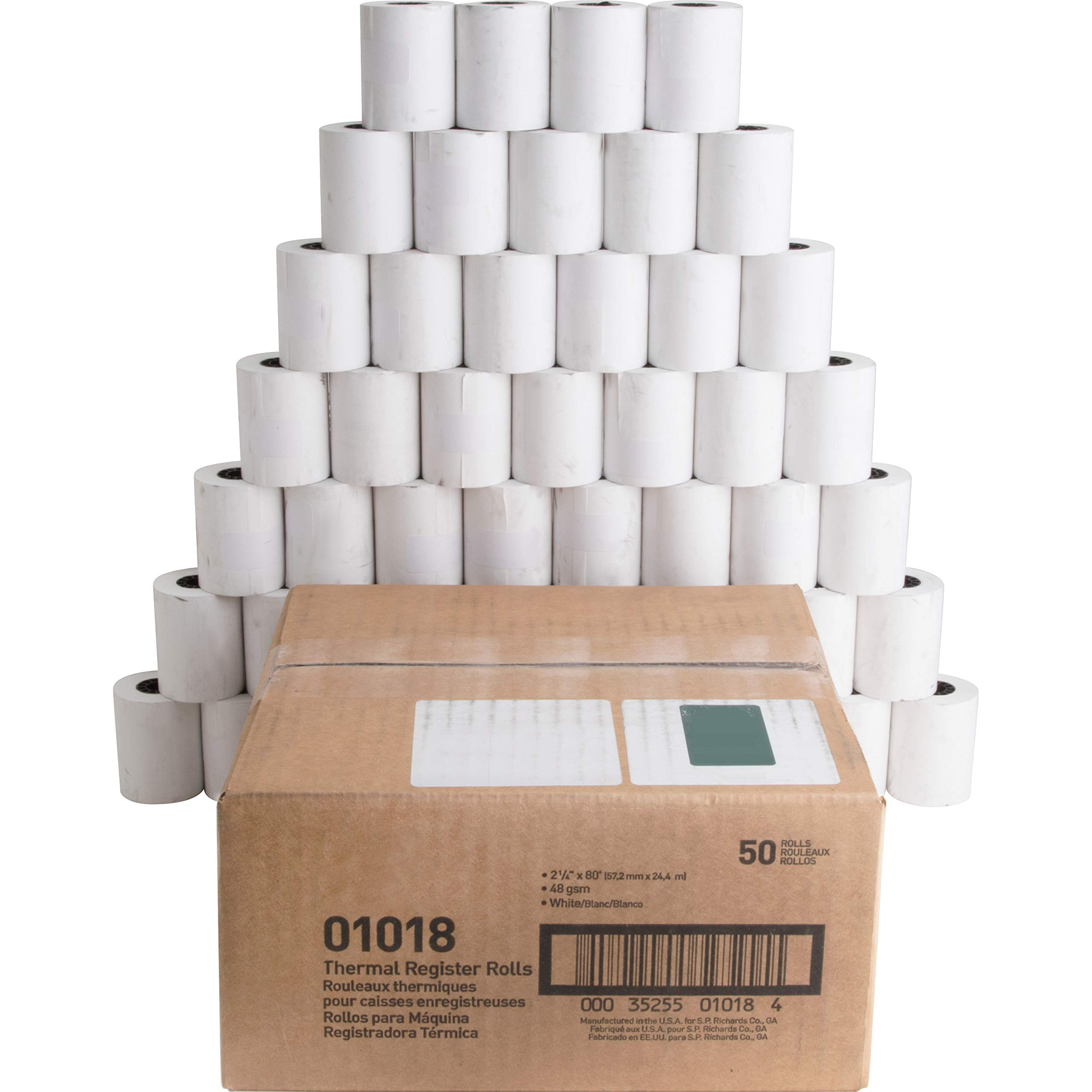 Business Source Direct Thermal Print Thermal Paper by Business Source