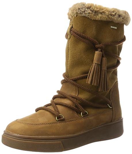 548a2c8d685 Geox Women's D MAYRAH B ABX A Snow Boots: Amazon.ca: Shoes & Handbags