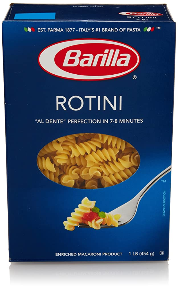 Barilla Pasta, Rotini, 16 Ounce Review
