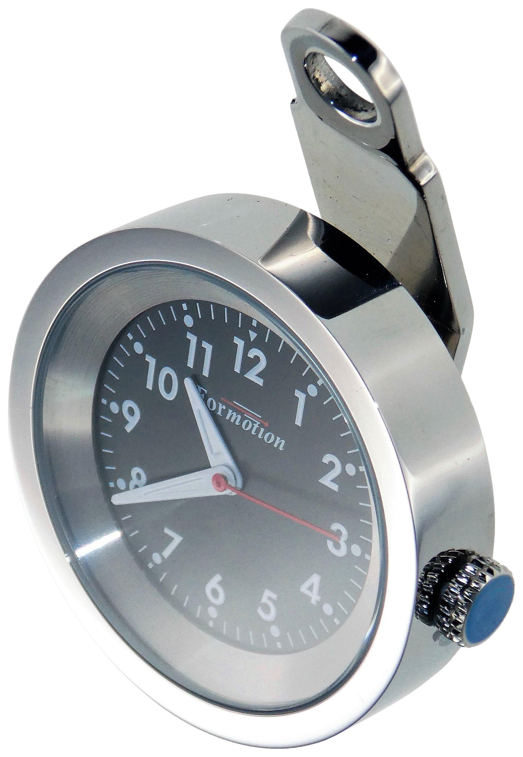 Formotion GA-75200 Black Face Bolt-On Clock,1 Pack
