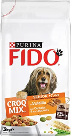 Fido Croq Mix Dry Dog Food Various Types To Choose From For Different Breeds And Sizes Of Dog Amazon Co Uk Pet Supplies
