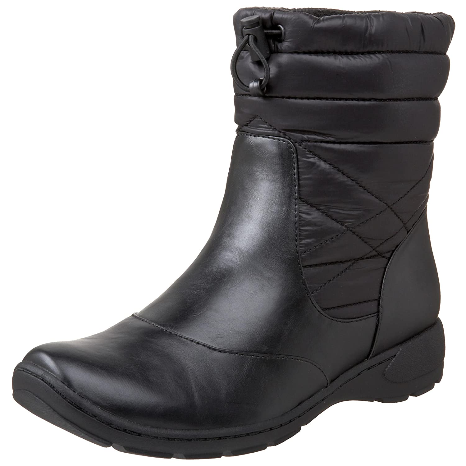 Amazon.com   Naturalizer Women's Rohan Boot, Black Smooth, 7 M US   Ankle &  Bootie