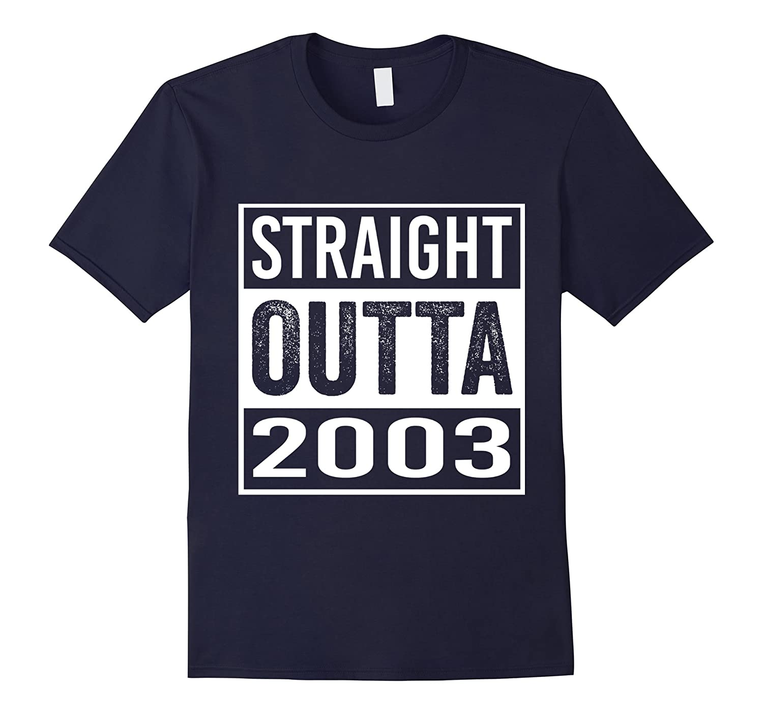14th Birthday Gift Shirt - Straight Outta 2003 T-Shirt-TH