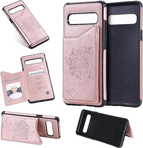 Amazon.com: Damondy - Funda tipo cartera para Samsung S10 5G ...